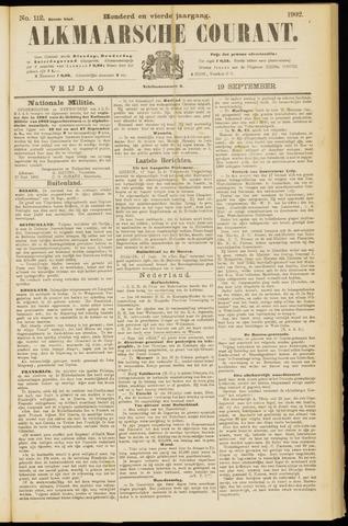 Alkmaarsche Courant 1902-09-19
