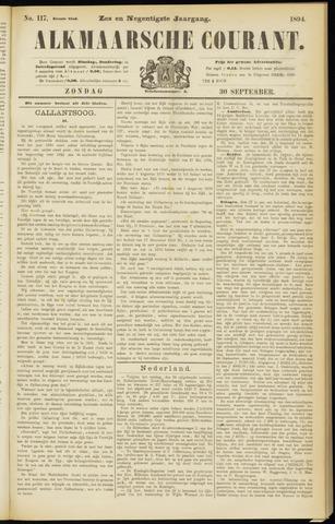 Alkmaarsche Courant 1894-09-30