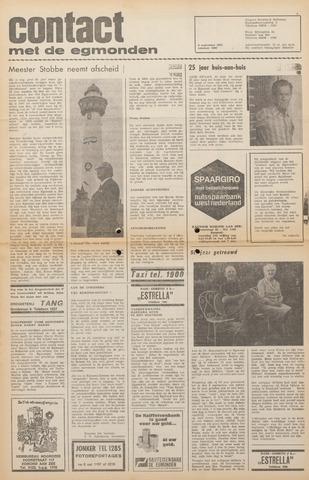 Contact met de Egmonden 1971-09-08