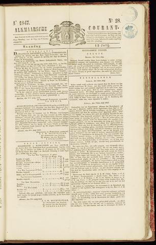 Alkmaarsche Courant 1847-07-12