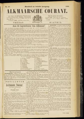 Alkmaarsche Courant 1900-04-20