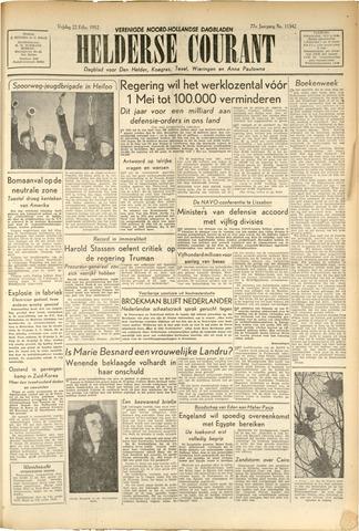 Heldersche Courant 1952-02-22