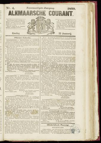 Alkmaarsche Courant 1860-01-22