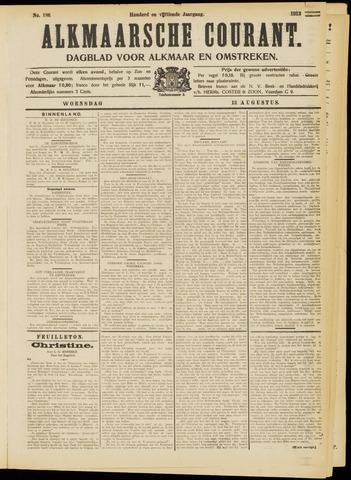 Alkmaarsche Courant 1913-08-13