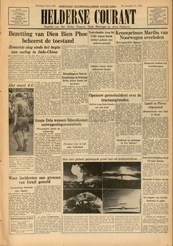 Heldersche Courant 1954-04-05