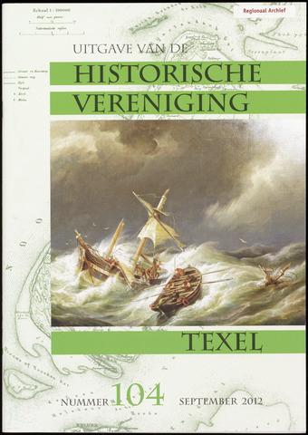 Uitgave Historische Vereniging Texel 2012-09-01