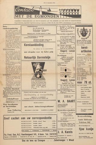 Contact met de Egmonden 1964-12-17