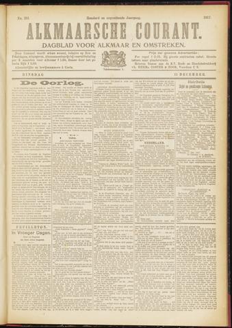 Alkmaarsche Courant 1917-12-11
