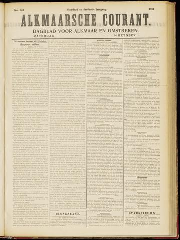 Alkmaarsche Courant 1911-10-14