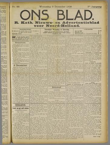 Ons Blad : katholiek nieuwsblad voor N-H 1909-12-08