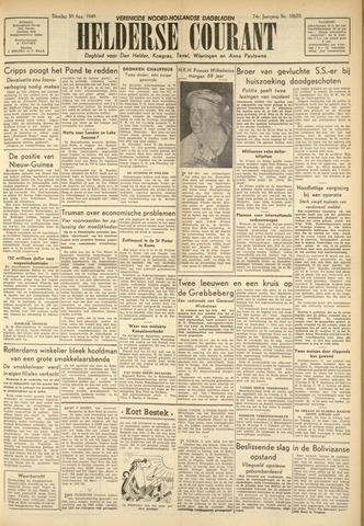 Heldersche Courant 1949-08-30