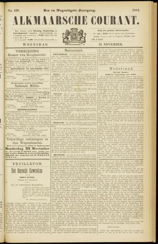 Alkmaarsche Courant 1894-11-21