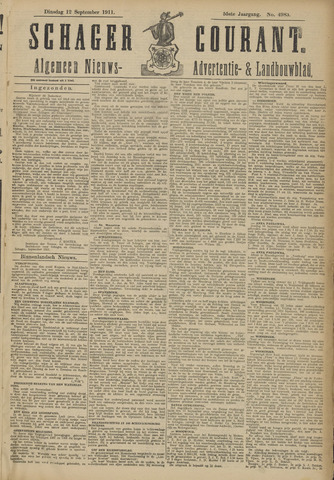 Schager Courant 1911-09-12