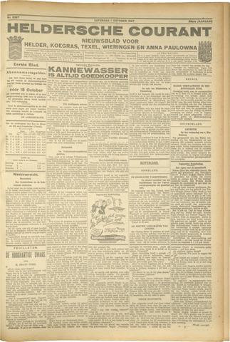 Heldersche Courant 1927-10-01