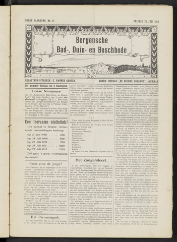 Bergensche bad-, duin- en boschbode 1912-07-26