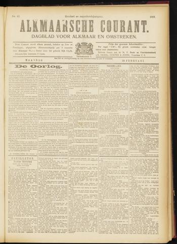 Alkmaarsche Courant 1917-02-19