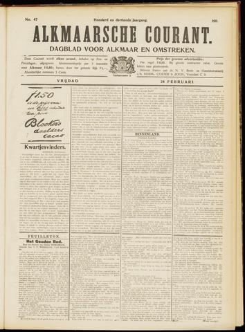 Alkmaarsche Courant 1911-02-24