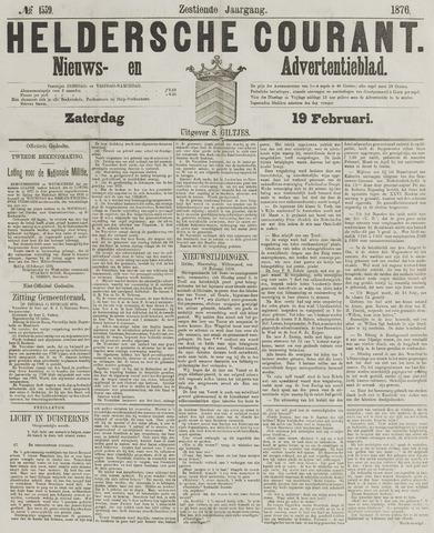 Heldersche Courant 1876-02-19