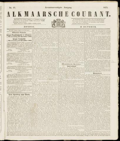 Alkmaarsche Courant 1875-10-31