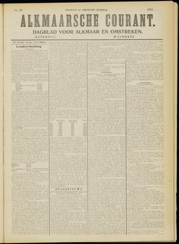 Alkmaarsche Courant 1912-01-27