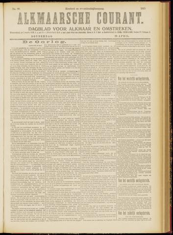 Alkmaarsche Courant 1915-04-29