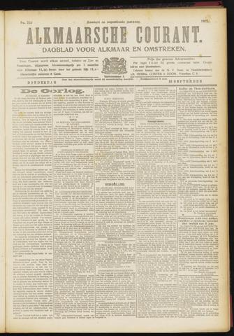 Alkmaarsche Courant 1917-09-13