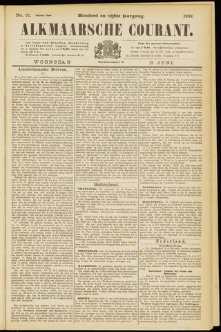 Alkmaarsche Courant 1903-06-17