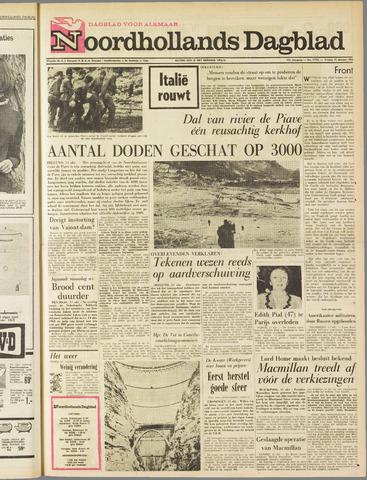 Noordhollands Dagblad : dagblad voor Alkmaar en omgeving 1963-10-11