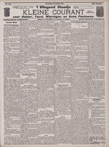 Vliegend blaadje : nieuws- en advertentiebode voor Den Helder 1912-10-30