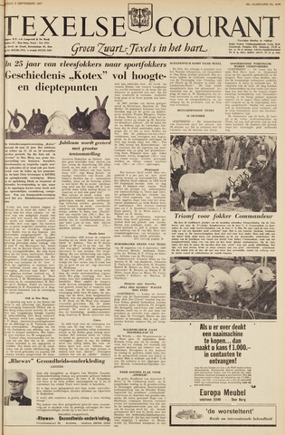 Texelsche Courant 1967-09-08