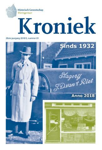 Kroniek Historisch Genootschap Wieringermeer 2018-12-01