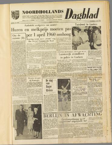 Noordhollands Dagblad : dagblad voor Alkmaar en omgeving 1959-07-01