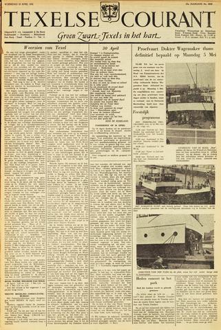 Texelsche Courant 1952-04-30