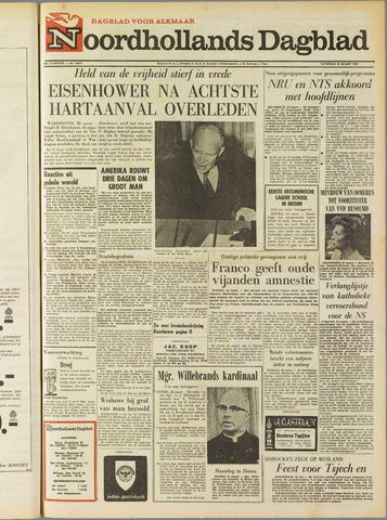 Noordhollands Dagblad : dagblad voor Alkmaar en omgeving 1969-03-29