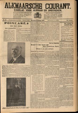 Alkmaarsche Courant 1934-10-15