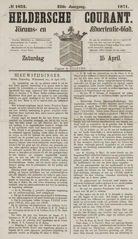 Heldersche Courant 1871-04-15