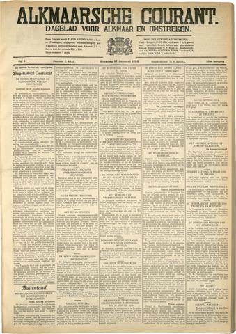 Alkmaarsche Courant 1933-01-10