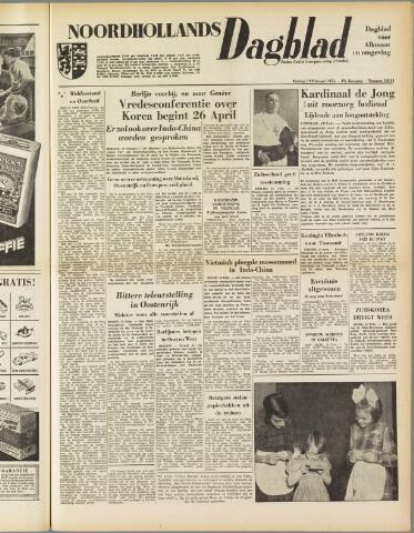 Noordhollands Dagblad : dagblad voor Alkmaar en omgeving 1954-02-19