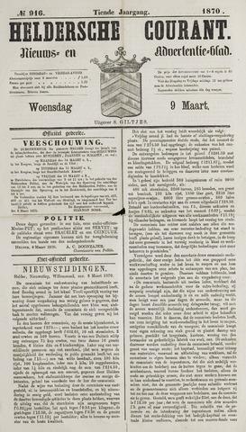 Heldersche Courant 1870-03-09