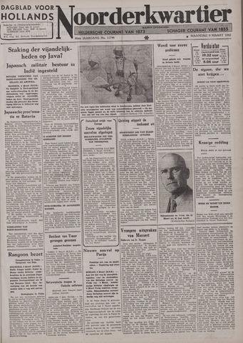Dagblad voor Hollands Noorderkwartier 1942-03-09