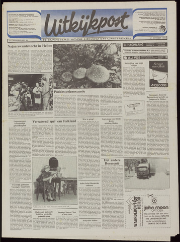 Uitkijkpost : nieuwsblad voor Heiloo e.o. 1992-10-21