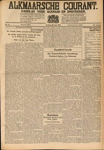 Alkmaarsche Courant 1934-06-22