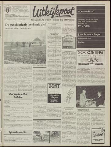 Uitkijkpost : nieuwsblad voor Heiloo e.o. 1986-06-18
