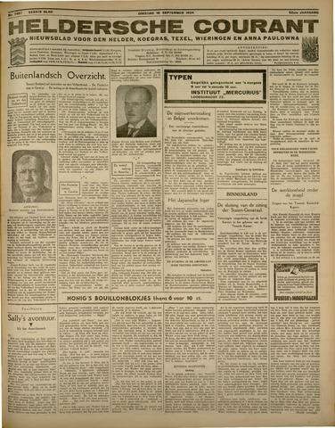 Heldersche Courant 1934-09-18