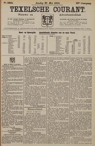 Texelsche Courant 1910-05-29