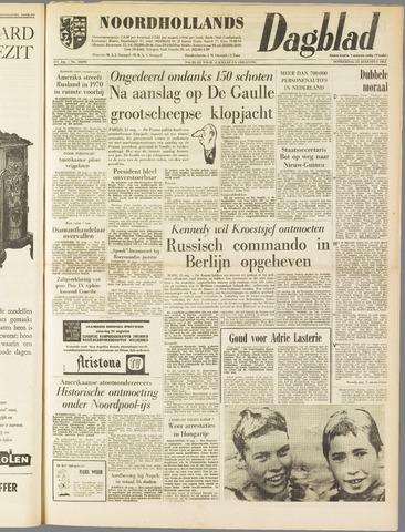 Noordhollands Dagblad : dagblad voor Alkmaar en omgeving 1962-08-23