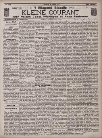 Vliegend blaadje : nieuws- en advertentiebode voor Den Helder 1913-01-18