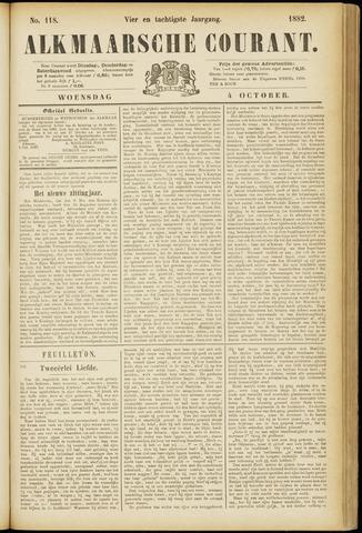 Alkmaarsche Courant 1882-10-04