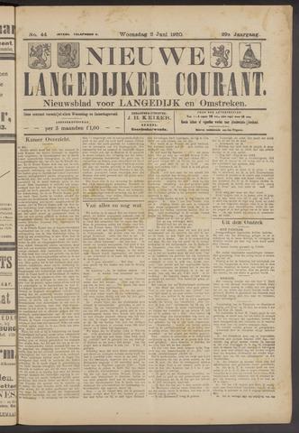 Nieuwe Langedijker Courant 1920-06-02