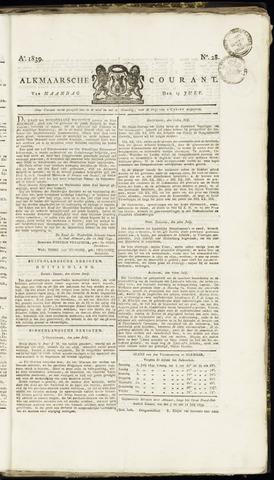 Alkmaarsche Courant 1839-07-15